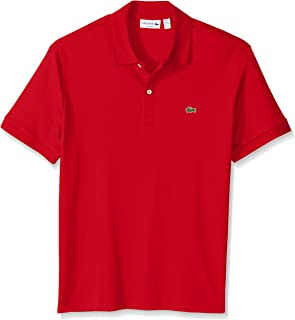 Men's Short Sleeve Pima Jersey Interlock Regular Fit Polo