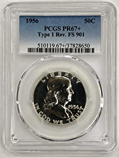 1963 P Franklin Silver Half Dollar 50c PR65 PCGS