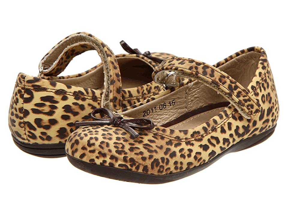Kid Express Josie (Toddler/Little Kid/Big Kid) (Cheetah Print) Girl