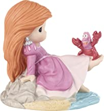 Precious Moments 201066 Disney Showcase The Little Mermaid You'll Stand Out from The Rest Ariel Bisque Porcelain Figurine,...