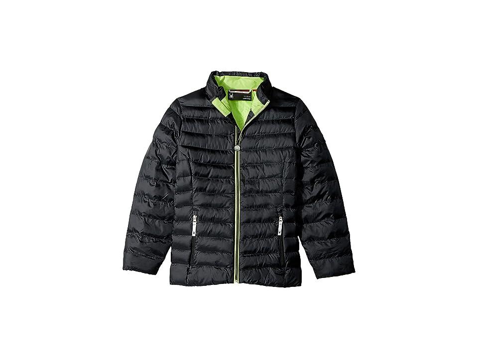 Spyder Kids Timeless Down Jacket (Big Kids) (Black/Fresh) Girl