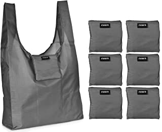Reusable Grocery Shopping Bag - Replace Paper and Plastic Bags with These Large and Strong Eco Friendly Bags. The Bag Turn...