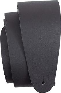 Perri's Leathers Ltd. - Sangle de Guitare - Longueur Ajustable - Guitares électriques, Acoustiques et Basses - Cuir - Noir...