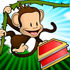 Short educational games appropriate for preschoolers (age 2 to 5) teach kids about colors, letters, counting, shapes, differences, and matching Lovable animated monkey provides encouragement during play Lively sound effects and voice recordings creat...