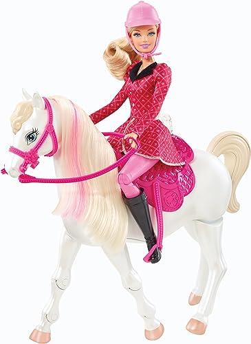 BARBIE PONY TALE BARBIE DOLL & HORSE
