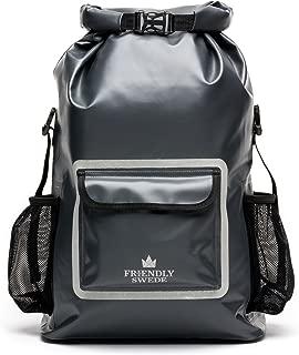 Waterproof Backpack Dry Bag 33L, Ergonomic Hiking Rucksack