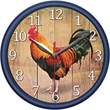 rooster clock that crows