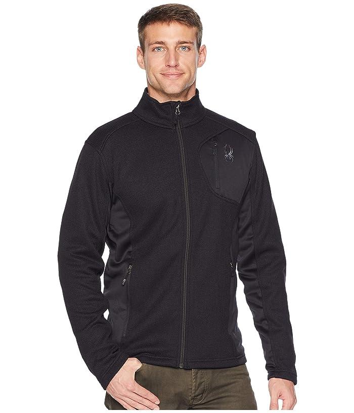 Bandit Full Zip Stryke Jacket (Black/Black/Black) Men's Coat