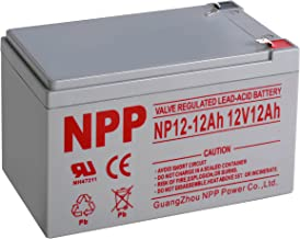 NP12-12Ah with F2 Terminals 12V 12 Ah Rechargeable Lead Acid Battery