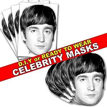 Ringo Starr Retro Celebrity Beatles Card Face Mask All Our Masks Pre-Cut