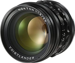 Voigtlander F1.5/50 mm D39 Asph Lens for Nokia Black