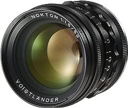 Voigtlander Lens 50Mm F1,5D39ASPH érique Nokton Black
