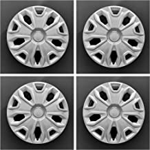 MARROW New Wheel Covers Hubcaps Replacements Fits 2014-2019 Ford Transit 150,250 and 350; 16 Inch; 5 Y Spoke; Silver Color; Plastic; Set of 4; Standard Leg