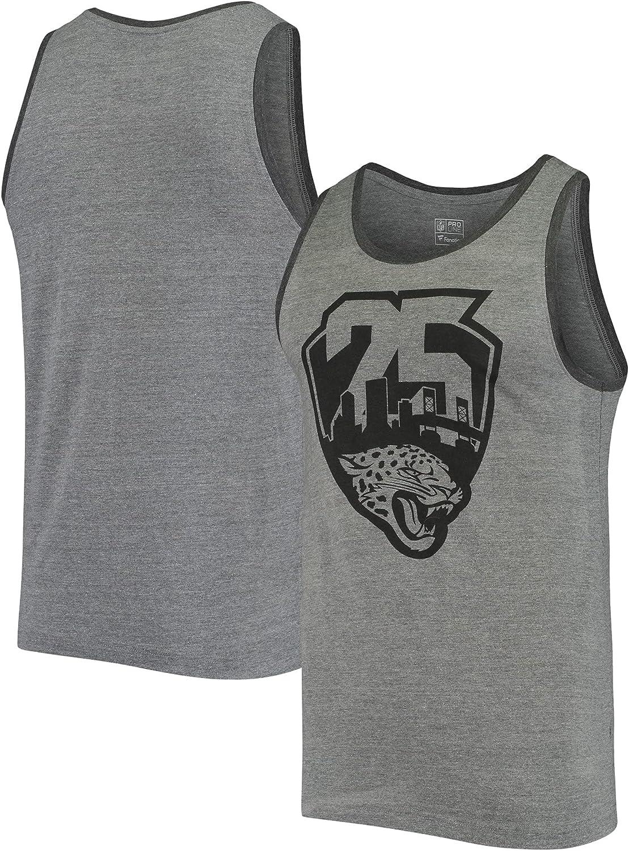 NFL PRO LINE Men's Gray At the price Jacksonville Brand new Season Ta Logo 25th Jaguars