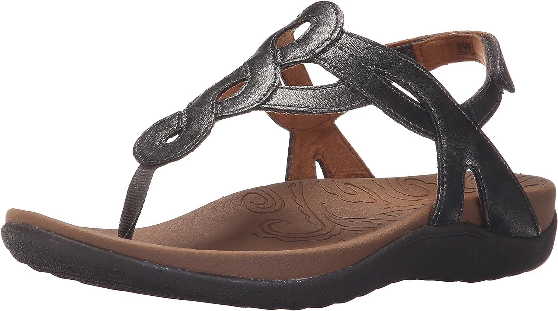 Cobb Hill Rockport Women's Ramona-CH Flat Sandal