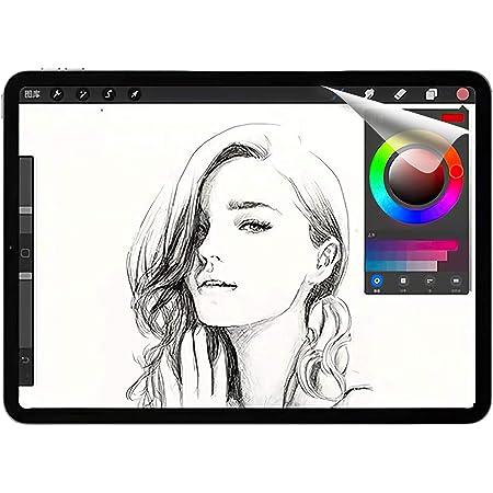 JPフィルター専門製造所 iPad Air 4 (2020) / iPad Pro 11 (2021年/2020年/2018年) インチ用のフィルム 2021年 紙のようなフィルム iPad 10.9インチ用のフィルム(2020) 紙のような描き心地 反射低減 非光沢 アンチグレア ペン先磨耗防止 保護フィルム