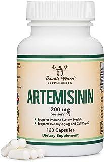 Artemisinin (Sweet Wormwood)(Artemisia Annua) 200mg Per Serving, 120 Capsules (Two Month Supply) Vegan Safe, Non-GMO, Glut...
