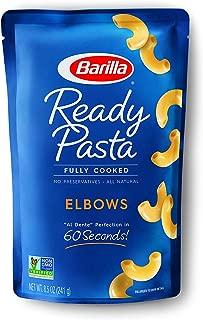 Barilla Ready Pasta, Elbows Pasta, 8.5 Ounces (Pack of 6)
