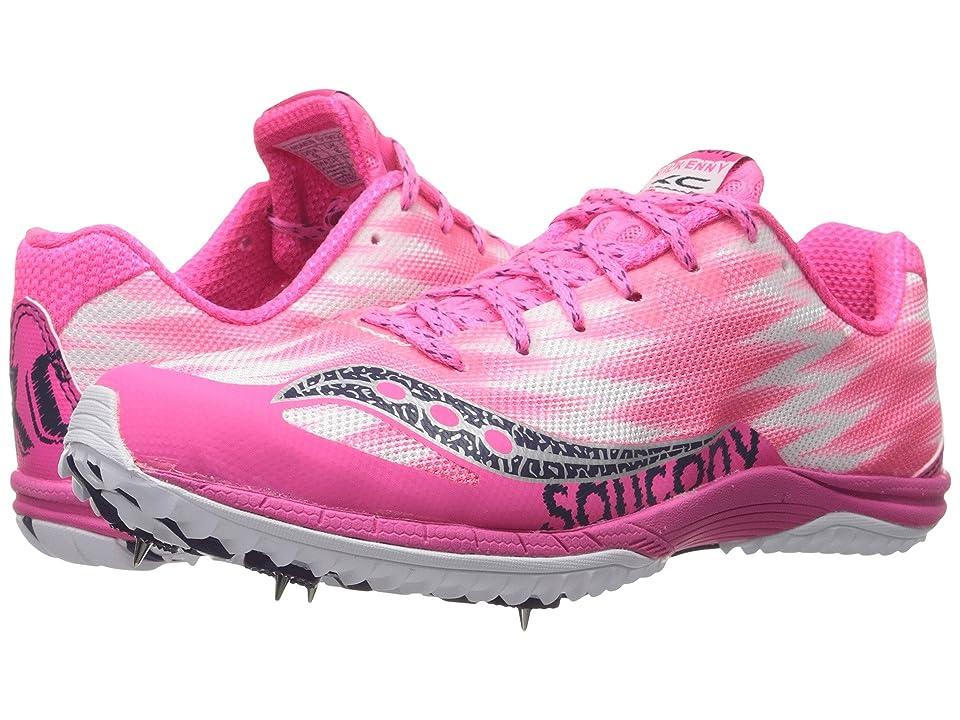 Saucony Kilkenny XC5 (Spike) (Pink/White) Women