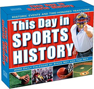 This Day in Sports History 2020 Calendar: Historic Events and Time-Honored Traditions