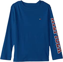 Tommy Hilfiger Kids - Dustin-Bex Jersey Long Sleeve Tee (Big Kids)