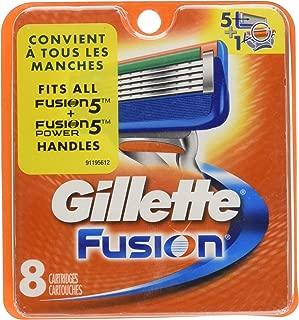 Gillette fusion - Recambios para cuchillas de afeitar (8 unidades)