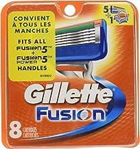 Gillette Fusion Razor Blades - Pack of 8 Refills