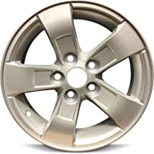 Road Ready Car Wheel For 2013-2016 Chevrolet Malibu 16 Inch 5 Lug Silver Aluminum Rim Fits R16 Tire - Exact OEM Replacement - Full-Size Spare
