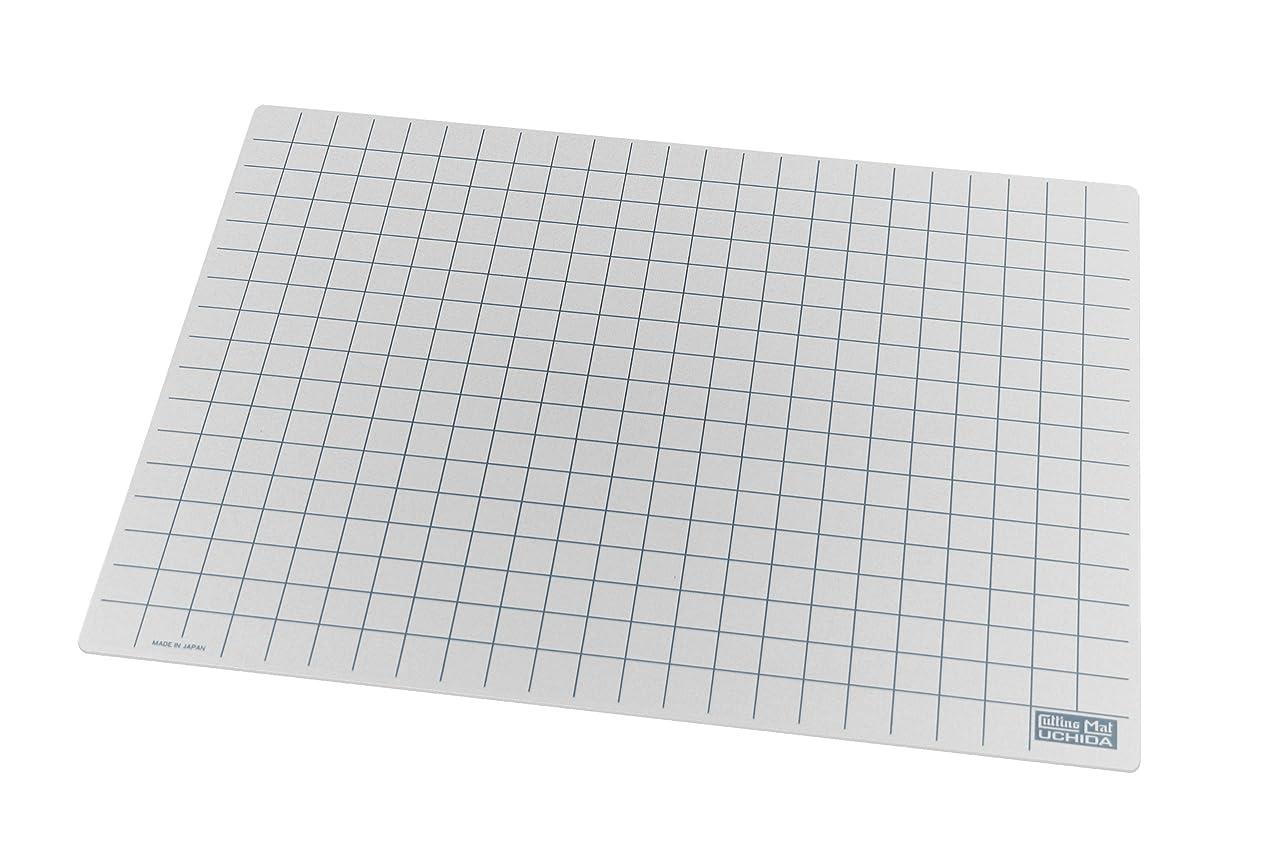 Uchida TM Marvy Translucent Cutting Mat, White, 18-Inch by 24-Inch