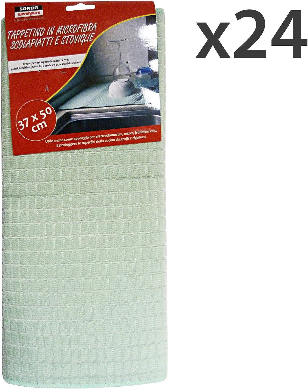 Set 24 Sonde Tuch Abtropfgestell Mikrofaser 37 x 50 50 50 18976 Werkzeug Reinigung B01LVXRX6I 939854