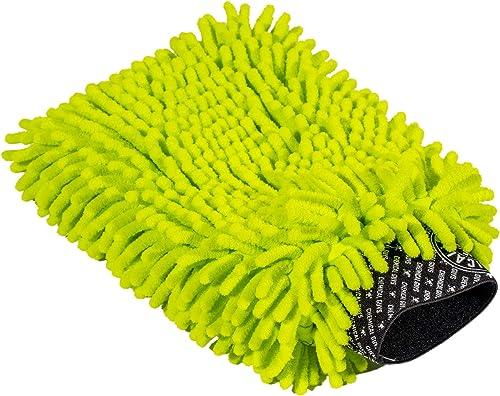 Chemical Guys Chenille Premium Scratch-Free Microfiber Wash Mitt,, MIC493, Lime Green