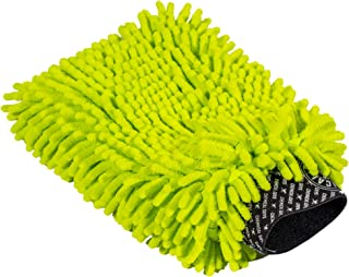 Chemical Guys Chenille Premium Scratch-Free Microfiber Wash Mitt, MIC493, Lime Green
