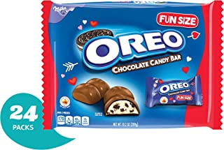 Oreo Chocolate Candy Bar Valentine's Day Treat Size Bars - 24 Count