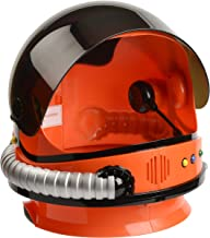 Aeromax Jr. Astronaut Helmet with Sounds and Retractable Visor, Orange