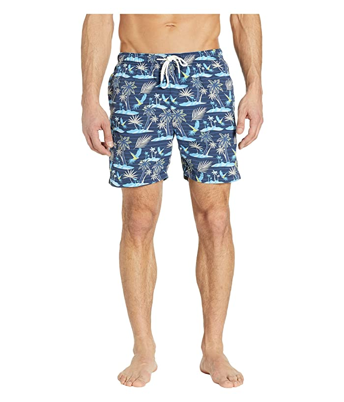 Tommy Bahama Naples Isle Of Palms Swim Trunks (Ocean Deep) Men
