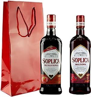 Geschenkidee Soplica Erdbeere und Himbeere | Polnischer Wodka/Likör