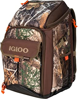 Igloo 00063017 Realtree Gizmo Backpack, Realtree/Dark Brown