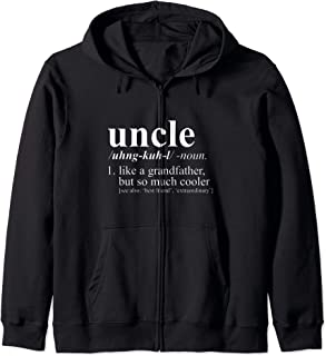 Uncle But so much cooler definition gift Sweat à Capuche