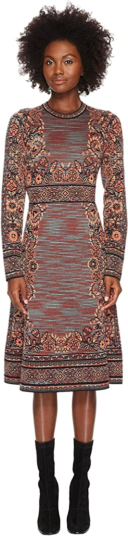 M Missoni - Spacedye Floral Jacquard Dress