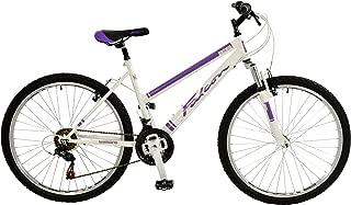 Falcon Orchid Girls 26 Inch Comfort Mountain Bike White/Purple