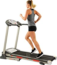 Sunny Health & Fitness SF-T7603 Electric Treadmill w/ 9 Programs, 3 Manual Incline,..