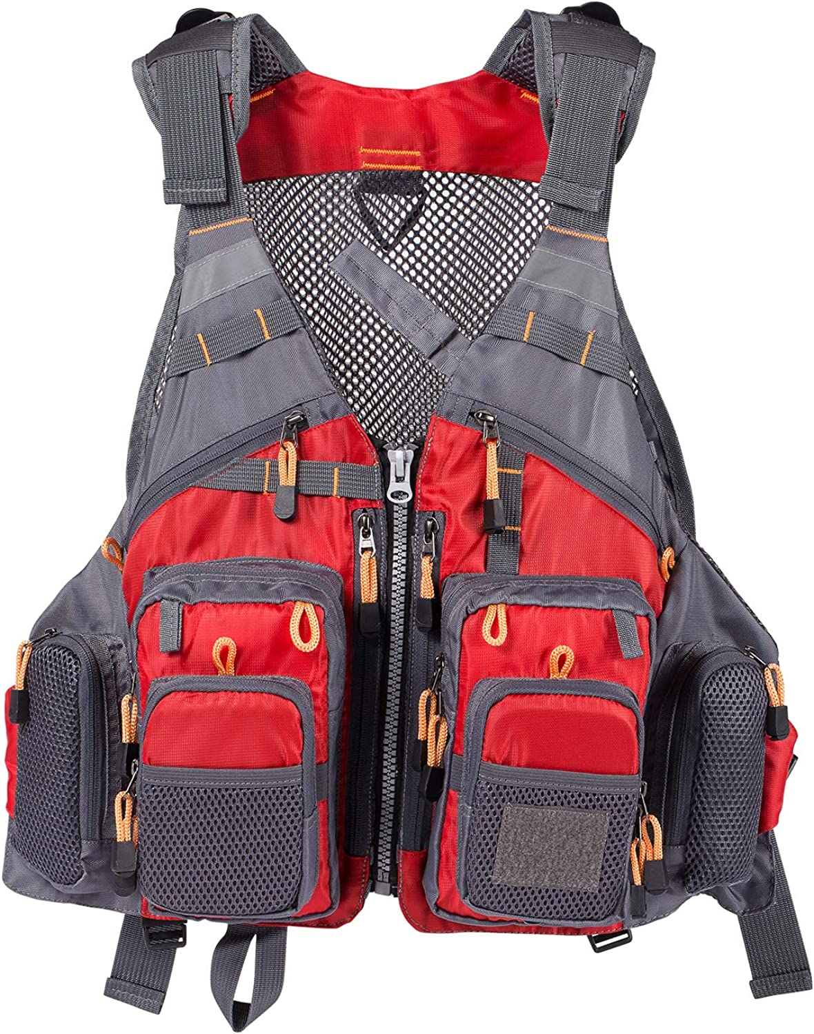 Lightbare Raleigh Mall Fly Los Angeles Mall Fishing Vest Pack Photography with Pockets for Men