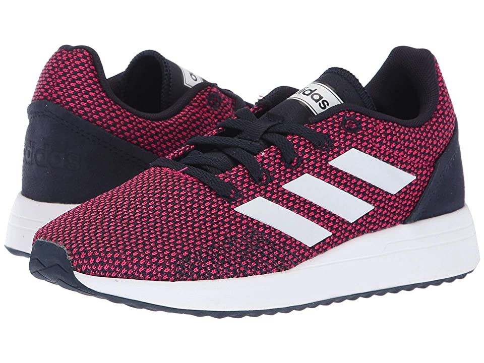 adidas Kids Run 70s (Little Kid/Big Kid) (Real Magenta/White/Legend Ink) Kid