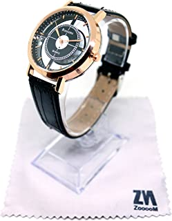 8de26e9f83 ZooooM ユニーク デザイン 文字盤 アナログ ウォッチ 腕 時計 ファッション アクセサリー おもしろ カジュアル メンズ レディース 男性