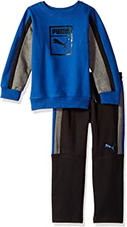 PUMA Little Boys' Pullover Fleece Set