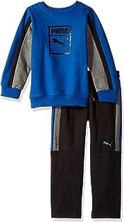 PUMA Little Boys' Pullover Fleece Set