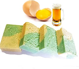Homemade Beer and Egg Conditioning Natural Shampoo Bar With Argan Oil