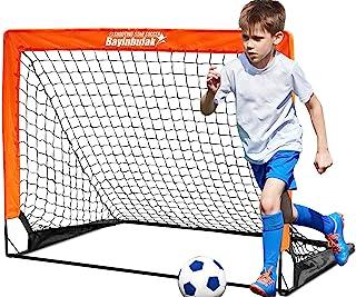 BAYINBULAK Soccer Goal Pop Up Soccer Net for Kids...