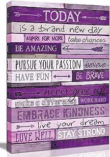 Inspirational Wall-Art – Office Wall Decor for Bedroom Teen Girl – Wall..