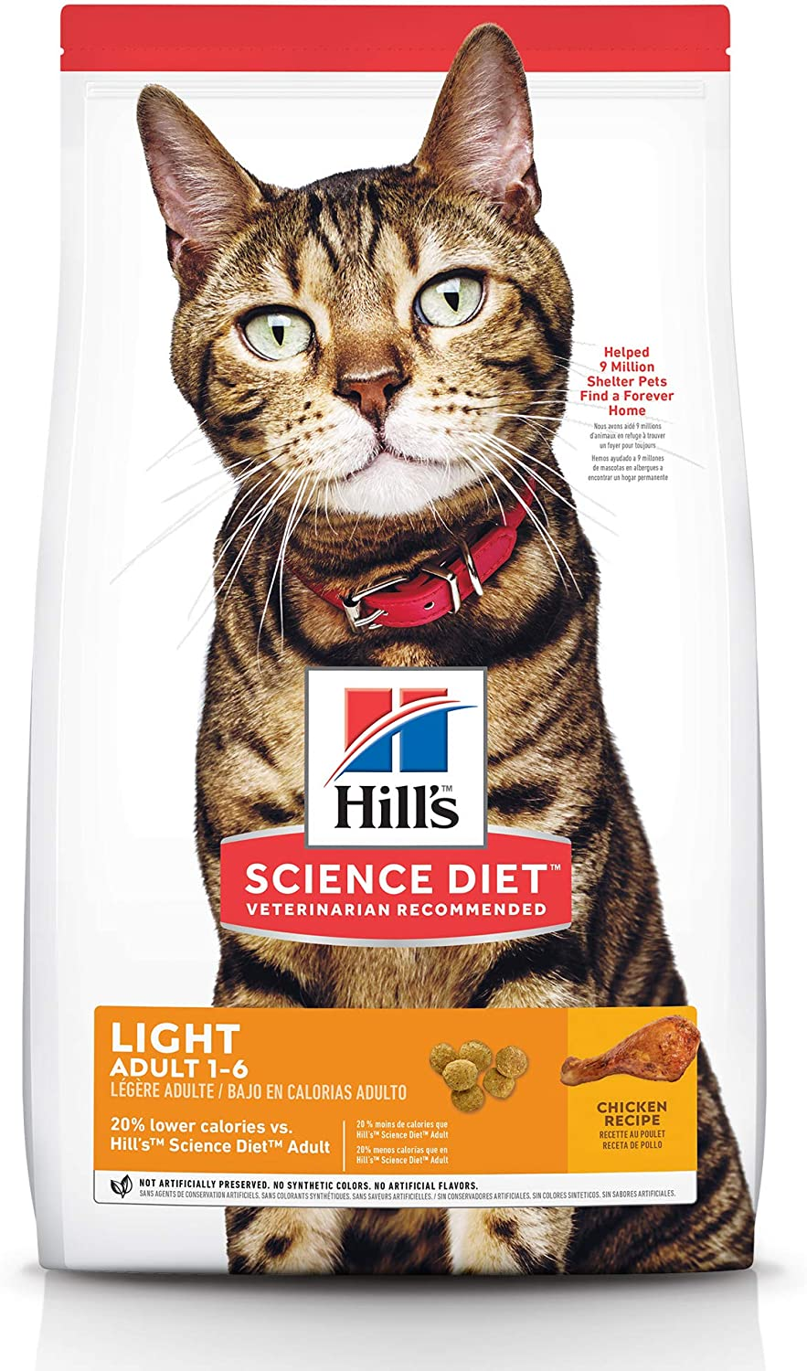 Hill's Science Diet Superlatite Dry Cat Food Fixed price for sale Weigh Adult for Light Healthy